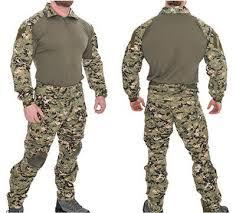 Tactical Combat Tactical Uniform Set In Woodland Digital