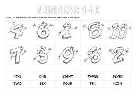 counting numbers 1 10 worksheets – tomtelife.com