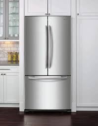 33 inch wide french door refrigerator. SAMSUNG RF18HFENBSR/AC 33-inch Wide, 17.5 Cu.ft. Counter Depth 33 Inch Wide French Door Refrigerator H