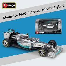 2019 <b>1:43 Scale Mini Metal</b> F1 Car Formula 1 Model Benz Racing ...