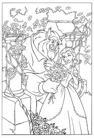 Printable Beauty And The Beast Coloring Pages Coloringmecom