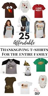 To Make Shirts 25 Festive Shirts For Thanksgiving Diva Of Diy