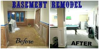 Basement Renovation Design Amazing Basement Remodeling Ideas Before And After Small Basement