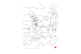 Coloring pages are fun for children of all ages and are a great educational tool that helps children develop fine motor skills, creativity and color recognition! At Home Activity For Kids Download And Print Coloring Pages Chick Fil A
