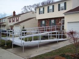 wheelchair assistance used ramps for