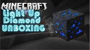 Diamond Ore Light Light Up Diamond Ore Unboxing
