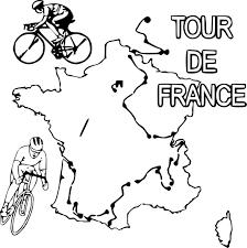 Coloriage Tour De France Imprimer Sur Coloriages Info