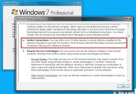 How Many Concurrent Connections Allowed To Access A Windows 7