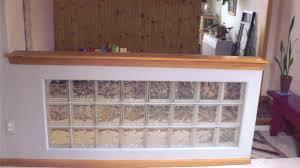 Bathroom Partition Walls Glass Block Wall Ideas Home Design Ideas