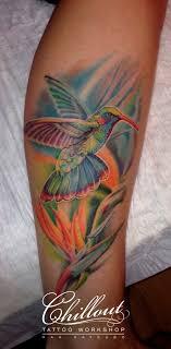 татуировка колибри значение фото Chillout Tattoo Workshop