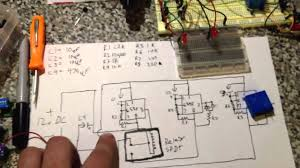 555 timer led police flasher schematic circuit