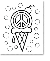 Small Picture Printable 10 Peace Sign Coloring Pages 10337 Peace Sign On Ice