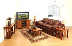Mission Style Living Room Set Funiture Amish Furniture For 5 Pieces Dining Room Set With Square