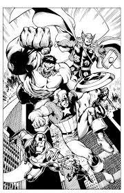 The Avengers By Tom Derenick Comics Marvel 0 Avengers