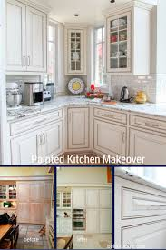 kitchen cabinets painted white before and afterPainted Cabinets Nashville TN Before and After Photos