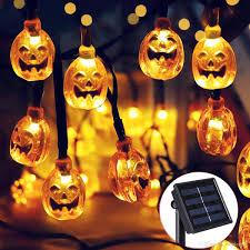 Großhandel Solar Halloween 30 Led Warmweiß Kürbis Lichterketten Gartendekor Lichterkette Von Euroleague 1006 Auf Dedhgatecom Dhgate