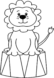 Small Picture Lion Circus Animals Coloring Page Wecoloringpage