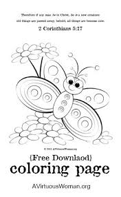 Free Coloring Page Printable A Virtuous Woman
