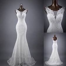 <b>Glamorous</b> Tulle Sexy Backless Mermaid Wedding Dress With Lace ...