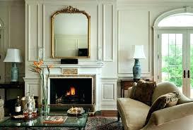 fireplace mantel lamps small