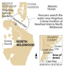 Tide Chart Hereford Inlet Nj Search Fails To Find Missing Swimmer In Hereford Inlet