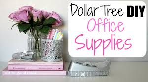 diy office supplies. Dollar Tree DIY - Glam Office Supplies Diy L