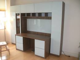 impressive office wall storage systems wall unit with desk smart storage solution for home office