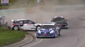 rallycross essay crash
