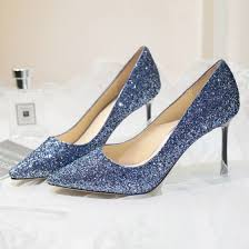 sparkly starry sky ocean blue evening party pumps 2018 leather glitter sequins 8 cm sti heels pointed toe pumps 560x560 jpg