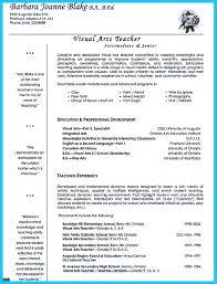 If You Are Seeking Job As An Art Teacher One Of The Maths Resume