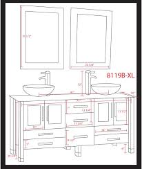 bathroom cabinet dimensions standard. double sink bathroom vanity size rukinet standard size. design 600567 cabinet dimensions a