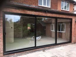 33 best aluminium sliding patio door images on triple track sliding patio doors