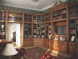 furniture for libraries. Fitted Private Library In A Dark Oak Furniture For Libraries