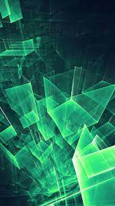 Android Green Abstract Wallpaper Hd