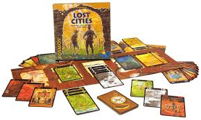 Image result for lost cities board game