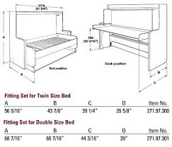 murphy bed desk plans. Murphy Bed Desk Combo Plans Pertaining To Hafele Hiddenbed Hardware Mechanism For Foldaway With Architecture 12 R