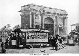 「1882, first tramcar in london」の画像検索結果
