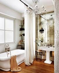 floor to ceiling mirror eclectic