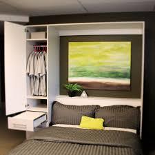 ... Penthouse Murphy Bed W/Hutch-Open ...