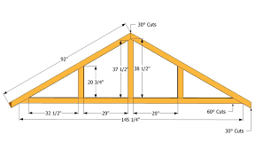 how to build a roof for a 12x16 shed