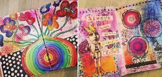 Art journaling for teens
