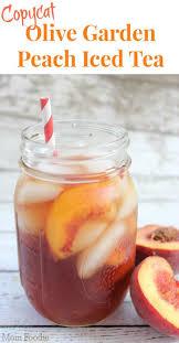 Copycat Olive Garden Peach Iced Tea Recipe | Tea recipes, Iced tea recipes,  Peach ice tea