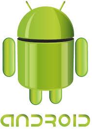 android logo vector. flat android logo vector o