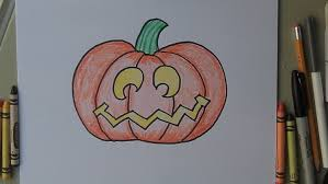 pumpkin drawing. how to draw a halloween jack-o-lantern pumpkin. step by for kids! easy cartoon style. - youtube pumpkin drawing