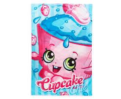 Shopkins Cupcake Chic Single Quilt Cover Set Bluepink Catchcomau