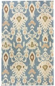 new transitional light blue faded antique area rug carpet hand tufted ikat rugs ivory by safavieh blue rug white tribal area bath ikat