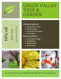 Lawn Care Brochure 15 Lawn Care Flyers Free Examples Advertising Ideas Landscape Flyer