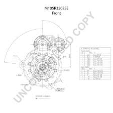 M105r3502se front dim drawing