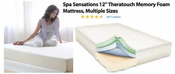 foam mattress walmart. In The Market For A New Mattress? Walmart.com Is Offering Up Great Deals On  Their Highly Rated 12\u2033 Spa Sensations Theratouch Memory Foam Mattresses! Foam Mattress Walmart R