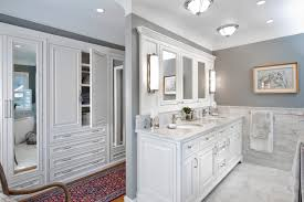 bathroom classic design. Marble Bathroom Vanity And Wooden Cabinet In Classic Design (Photo 17 Of 17)